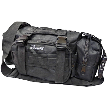 The Armory Black Range Bag