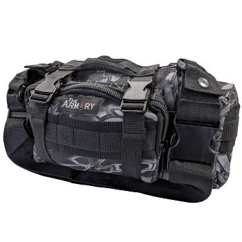 The Armory Black Python Range Bag