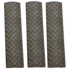ERGO Diamond Plate Full Rail Cover | 3-Pack | OD Green