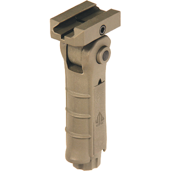 UTG Ambidextrous 5-Position Foldable Foregrip | Flat Dark Earth