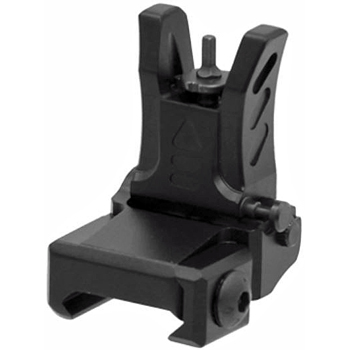 UTG AR-15 Low Profile Flip-Up Front Sight for Handguard