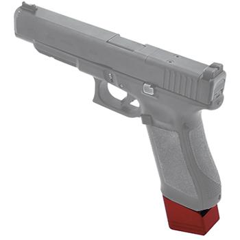 UTG Pro +5 Base Pad - Glock 17/34 - Matte Red Aluminum