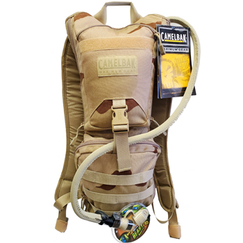 CamelBak Ambush + 200 Rds of Blazer 45 ACP & Plastic Ammo Can