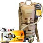 CamelBak Ambush + 500rds of Armscor 22LR High Velocity Ammo