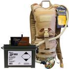 CamelBak Ambush Hydration Pack with 200 Rounds of CCI Blazer Brass 45 ACP Ammo AND a Plano Ammo Box