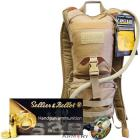 CamelBak Ambush 100oz Hydration Pack with 300 Rounds of S&B 9mm 115gr Ammo