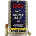 22LR 32gr CPHP CCI Stinger Ammo Box (50 rds)