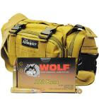 223 55gr FMJ Wolf Gold Ammo - 500rds in The Armory Tan Range Bag