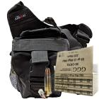 223 Remington (5.56x45mm) 55gr FMJ GGG Ammo - 300rds in The Armory Black Shoulder Bag