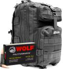 300 AAC Blackout 145gr FMJ Wolf Polyformance Ammo in The Armory Black Backpack (500 rds)
