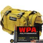 7.62x39 123gr FMJ Wolf WPA Polyformance Ammo in The Armory Tan Range Bag (200 rds)