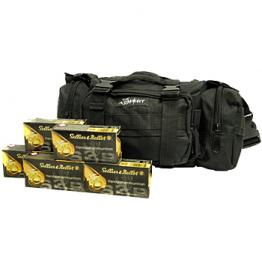 9mm S&B 115gr - 350 Rounds in Black The Armory Range Bag