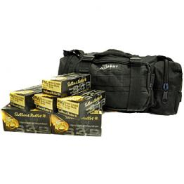 9mm S&B 115gr - 500 Rounds in Black The Armory Range Bag