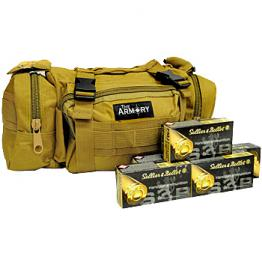 9mm S&B 115gr - 350 Rounds in Tan The Armory Range Bag