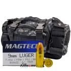 9mm 115gr FMJ Magtech Ammo - 200rds in The Armory Black Python Range Bag