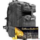 9mm 115gr FMJ S&B Ammo - 1000 Rounds in The Armory Black Backpack