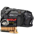 9mm Luger 115gr FMJ Wolf Performance Ammo in The Armory Black Range Bag (500 rds)