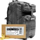9mm Luger (9x19mm) 124gr FMJ Sellier & Bellot Ammo - 500rds in The Armory Black Backpack