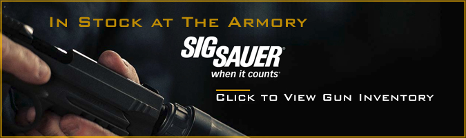 The Armory - Sig Sauer Pistols for Sale