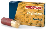 Buy This 12 GA 2-3/4 00B 9-pellet Plated Federal Box Ammo for Sale