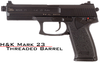 heckler koch h k mark 23 45 acp h k mark 23 full size 45 acp free portable pistol safe