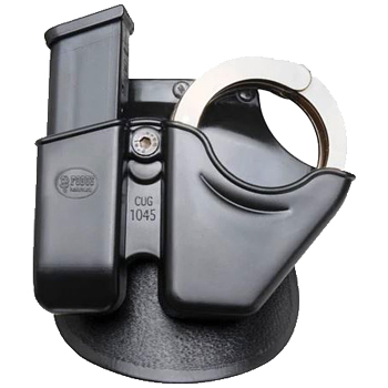 Fobus Combo Pouch Paddle Holster | Glock | 10mm/45 | OWB | Right Hand | Black