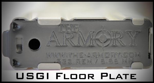 The Armory 30 Round AR-15 Magazine with Tan Military Follower
