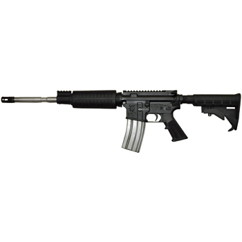 Olympic Arms Plinker Plus Flat Top Stainless Steel Barrel AR-15 - 223/5.56