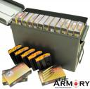 Package Deal - 540rds of 223 Rem 55 gr FMJ Wolf Gold and 5 C-Products 10rd Magazines in a NEW Ammo Can