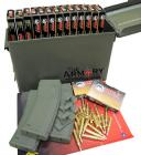 Package Deal - 560rds of 223 (5.56x45) | 3 Troy Battlemags OD Green | 50 Cal Ammo Can