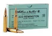 223 Remington (5.56x45mm) 55gr FMJBT Sellier & Bellot  Case (1000 rds)