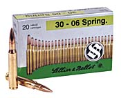 Buy This 30-06 Springfield 180gr FMJ Sellier & Bellot Ammo for Sale