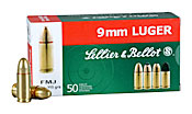 Buy This 9mm Luger (9x19mm) 115 gr FMJ Range Safe Sellier & Bellot Ammo for Sale