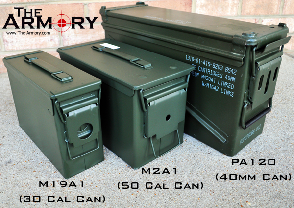 Military Used and new Ammo Cans & Military metal ammo cans Aboutintivar.Com