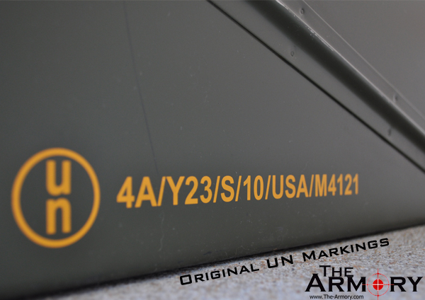 PA120 Ammo Can Markings