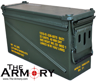 Surplus PA120 40mm Grenade Ammo Can