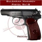 Bulgarian Makarov Pistol