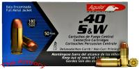 Buy This 40 S&W 180 gr FMJ Aguila Ammo for Sale
