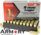 Click To View Details on 9mm Aguila 115 Grain FMJ Ammo in Bulk For Sale