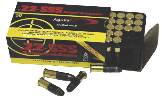 Buy This 22LR 60gr Aguila SSS Solid Ammo for Sale