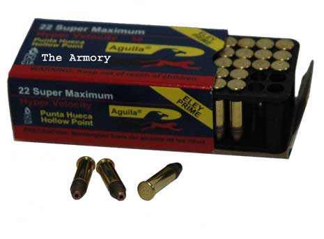 22LR 30gr Aguila Super Max SP Ammo Box (50 rds)