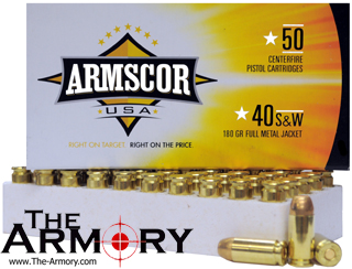 Buy This 40 S&W 180 gr FMJ Armscor USA Ammo for Sale