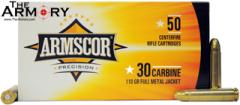 30 Carbine 110gr FMJ Armscor Precision Case (1000 rds)