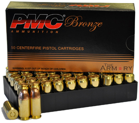 9mm Luger 9x19mm 115gr Fmj Pmc Box 50 Rds
