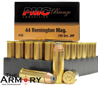 Buy This 44 Mag 180gr JHP PMC Ammo for Sale