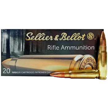 Brass 7.62x39 124gr FMJ Sellier & Bellot Ammo 200 Rounds