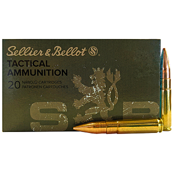 300 AAC Blackout 200gr FMJ Sellier & Bellot Ammo Brick (200 rds)