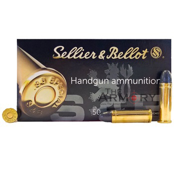 38 Special 158gr LRN Sellier & Bellot Ammo Box (50 rds)