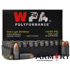 Buy This 9mm Luger (9x19mm) 115 gr FMJ Wolf WPA Polyformance Ammo for Sale