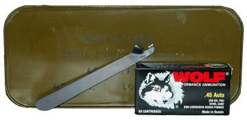 Buy This 45 ACP (45 Auto) 230 gr FMJ Wolf WPA Ammo for Sale